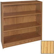 "42"" Adjustable Bookcase - 36""W x 11-7/8""D x 41-7/8""H Natural Oak"