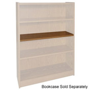 "Extra Shelf - 34-1/2""W x 11-1/2""D x 3/4"" Thick for Adj. Bookcase Medium Oak"