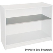 "Extra Shelf - 34-1/2""W x 11-1/2""D x 1"" Thick for Adj. Bookcase Gray"