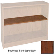 "Extra Shelf - 34-1/2""W x 11-1/2""D x 1"" Thick for Adj. Bookcase Mahogany"