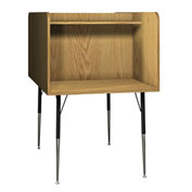 "Computer Carrel-Back to Back - 35-5/8""W x 58-3/8""D x 52-3/8""H Natural Oak"