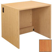 "Book Return Unit - 36""W x 30-1/8""D x 32-1/8""H Oiled Cherry"