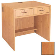 "Two-Drawer Unit - 36""W x 30-1/8""D x 32-1/8""H Oiled Cherry"