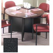 "42"" Conference Table - 42""W x 42""D x 28-5/8""H Black Granite"