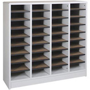 "Literature Organizer 36 Pocket - 40""W x 12-1/8""D x 37-7/8""H Gray"