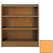 "42"" Double Face Shelving Adder - 36""W x 24""D x 40-7/8""H Amber Ash"