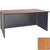 "Ironwood Desk Shell - 72""W x 23-3/4""D x 28-3/8""H - Oiled Cherry  - 3000 Series"