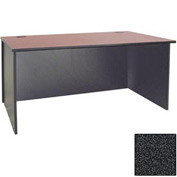"Ironwood Desk Shell - 72""W x 23-3/4""D x 28-3/8""H - Black Granite  - 3000 Series"