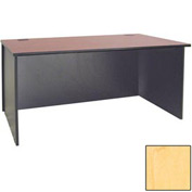 "Ironwood Desk Shell - 72""W x 23-3/4""D x 28-3/8""H - Maple  - 3000 Series"
