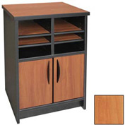 "Ironwood Machine Stand - 21-1/2""W x 18""D x 29""H Oiled Cherry  - 3000 Series"