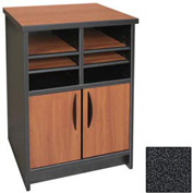 "Ironwood Machine Stand - 21-1/2""W x 18""D x 29""H Black Granite  - 3000 Series"