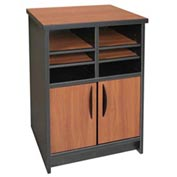 "Ironwood Machine Stand - 21-1/2""W x 18""D x 29""H Maple/Black  - 3000 Series"