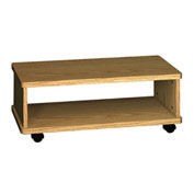 "Printer Wagon - 32""W x 15-7/8""D x 12-1/8""H Natural Oak"