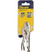 "Irwin® Vise-Grip® 4WR Original Curved Jaw w/ Wire Cutter 4"" Carded Locking Plier"