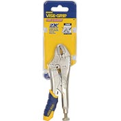 "Irwin® Vise-Grip® 5WR Fast Release Curved Jaw w/ Wire Cutter 5"" Carded Locking Plier"