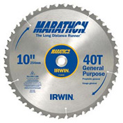"""Miter / Table Saw Blade-12"""" x 40T General Purpose, 1"""" Arbor-Carded"""