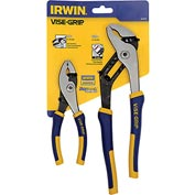 "IRWIN® VISE-GRIP® 2 Pc. Traditional Pliers Set-6"" Slip Joint & 10"" Groove Joint"