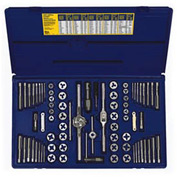 76 Pc. Machine Screw/Fractional/Metric Tap & Hex Die Super Set
