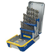 29 Pc. Drill Bit Industrial Set Case, Cobalt-Bulk M42