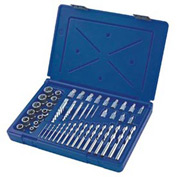 48 Pc. Screw Extractor/Drill Master Set