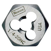 "Re-Threading Hex Die-1/2""-20 Nf, Hcs-Bulk - Pkg Qty 5"