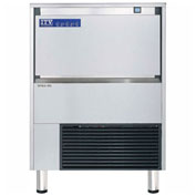 ITV SPIKA NG 175 A1F Undercounter Ice Machine, Full Dice Style, Produces Up To 214 Lbs. Per Day