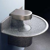 Sanifount® Washfountain, 3-Users, Electron. Touch Button, Twilight Grey