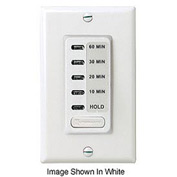 Intermatic EI210LA Electronic Auto-Off Timer 10/20/30/60 Minute With HOLD, Light Almond