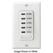 Intermatic EI215LA Electronic Auto-Off Timer 15M/30M/60M/1H/4H Minute, Light Almond