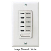 Intermatic EI230LA Electronic Auto-Off Timer 2/4/8/12 Hour With HOLD, Light Almond