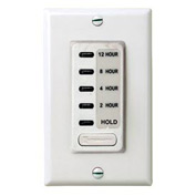 Intermatic EI230W Electronic Auto-Off Timer 2/4/8/12 Hour With HOLD, White