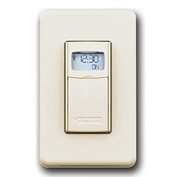 Intermatic EI400LAC Digital Auto-Off Timer 20 Amp 12-277VAC, 12-28VDC, Light Almond