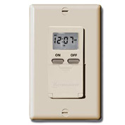 Intermatic EI500C Digital 7-Day Timer 15 Amp 120V, Ivory