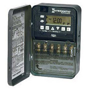 Intermatic ET8215CR 7-Day 30 Amp 2xSPST or DPST Electro Astro Timeswitch - Clk Volt 120-277V NEMA3R