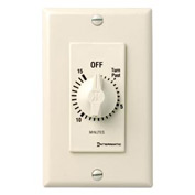Intermatic FD15MAC 15 Minute 125-277V SPST Decorator Series Spring Wound Timer, Almond