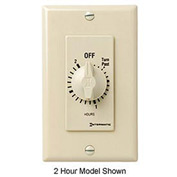 Intermatic FD34H 4 Hour 125-277V SPDT Decorator Series Spring Wound Timer, Ivory