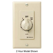 Intermatic FD36H 6 Hour 125-277V SPDT Decorator Series Spring Wound Timer, Ivory