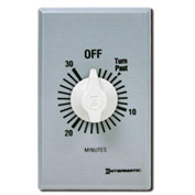 Intermatic FF330M 30 Minute 125-277V SPDT Commercial Series Timer w/Metal Single Gang Plate