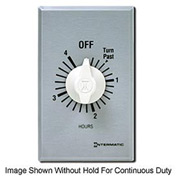 Intermatic FF34HH 4 Hour 125-277V SPDT Commercial Series Timer w/ Hold For Continuous Duty