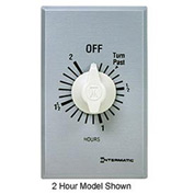 Intermatic FF36H 6 Hour 125-277V SPDT Commercial Series Spring Wound Timer