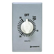 Intermatic FF430M 30 Minute 125-277V DPST Commercial Series Spring Wound Timer