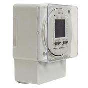 Intermatic FM1D20A-120 Electronic 24-Hour/7-Day Timer Module, Surface/DIN Rail Mount, 120V, 50/60Hz