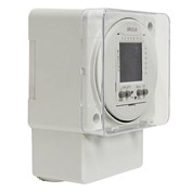 Intermatic FM1D20A-24 Electronic 24-Hour/7-Day Timer Module, Surface/DIN Rail Mount, 24V, 50/60Hz
