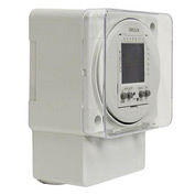 Intermatic FM1D20A-240 Electronic 24-Hour/7-Day Timer Module, Surface/DIN Rail Mount, 240V, 50/60Hz