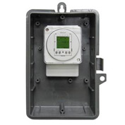 Intermatic GMX2FM2D50O-120 2-ChannelElectro24-Hour/7-DayTime Switch,NEMA3R Outdoor/Plastic,16A,120V