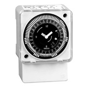Intermatic MIL72AQWUZH-240 7-Day, Electromech Timer, Surface/DINRail, Batery Backup, Override, 240V