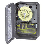 Intermatic T101B NEMA 1-125V SPST 24 Hour Time Switch Separate Clock Motor And Circuit Terminals