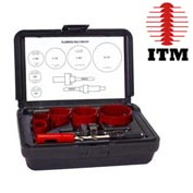ITM Plumber's Hole Saw Kit