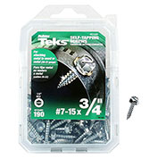 """ITW Teks® 21390 - Self-Tapping Screw #7 x 3/4"""" Hex - Pkg of 190"""
