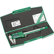 "InSize Digital Caliper, 1102-150, 0-6""/0-150mm Range"